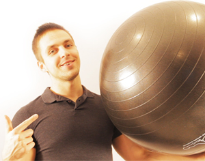 Let's find out Top 3 the most effective ab exercises with a swiss ball